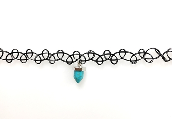 Image Tattooz with Turquoise Crystal