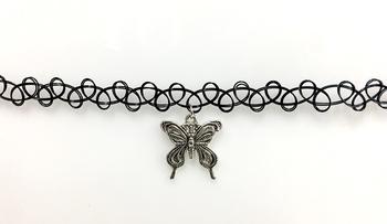 Image Tattooz with Butterfly Choker