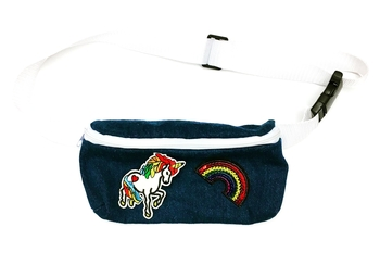 Image Denim Patch Fanny Pack