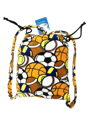 Image Fuzzie Sport Collage Blanket Backpack