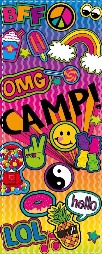 Image Camp Sticker Socks