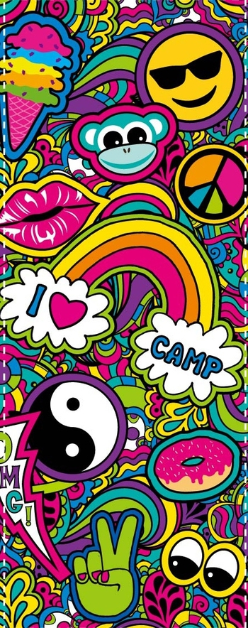 Image Paisley Camp Socks