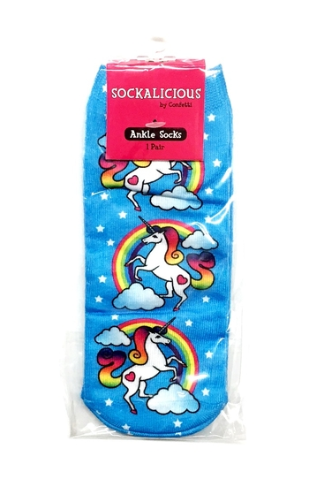 Image Unicorn Rainbow Socks