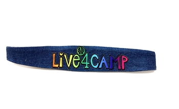 Image Denim Live 4 Camp Headwrap