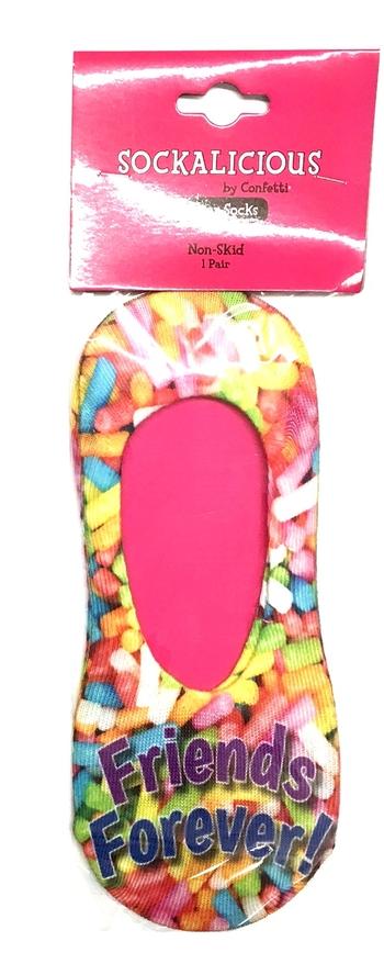 Image Sprinkle Friends Forever Slipper Socks
