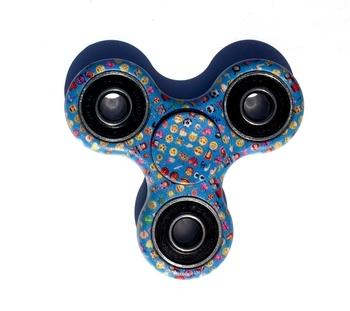 Image Blue Emoji Spinner