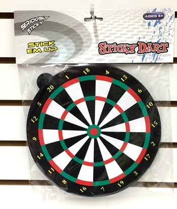 Image Sticky Dart Board Game