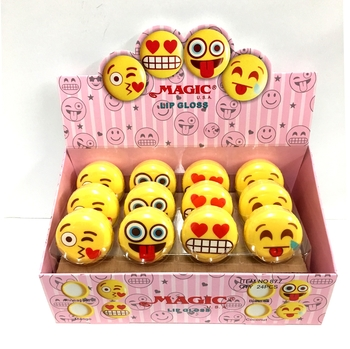 Image Smiley Round Lipgloss