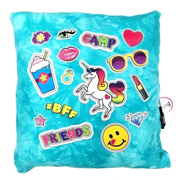Image Camp Friends Patch Autograph Pillow