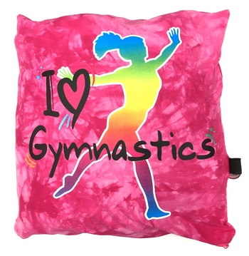 Image I Love Gymnastics Autograph Pillow