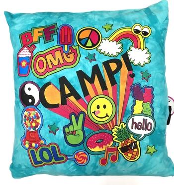 Image Camp Explosion Autograph Pillow
