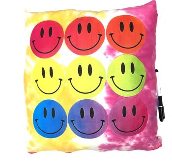 Image Rainbow Smiles Autograph Pillow