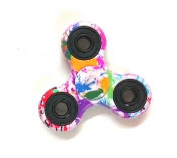 Image Rainbow Splatter Paint Spinner