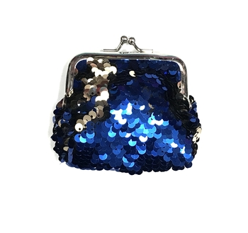 Image Sequin Color Changing  Snap Chang Purse