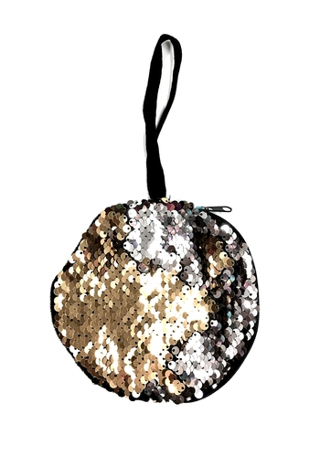 Image Sequin Color Changing Round Purse
