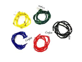 Image Evil Eye Camp Color Bracelet Set