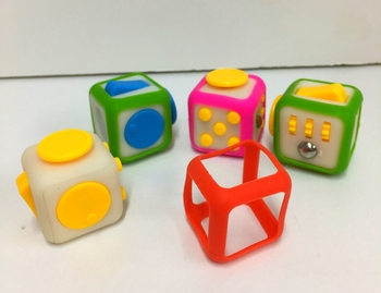 Image Stress Cube with Neon Jacket
