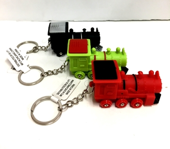 Image Train Light Keychain