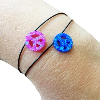Image Peace Opal pull tie Bracelet