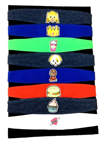 Image Twill Patch Headwraps