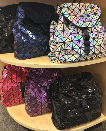 Image Triangle Designs Backpack