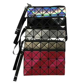 Image Triangle Designs Wristlet