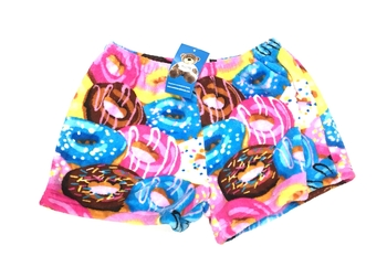 Image Crazy Donuts Fuzzies Short