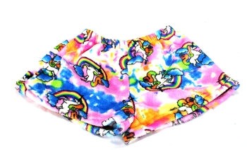 Image Rainbow Unicorn Fuzzies Short