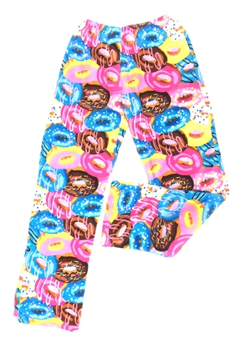 Image Crazy Donuts Fuzzie Pant