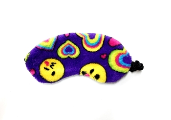 Image Emoji Heart Fuzzies  Eye Mask