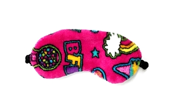 Image Patches Fuzzie Eye Mask