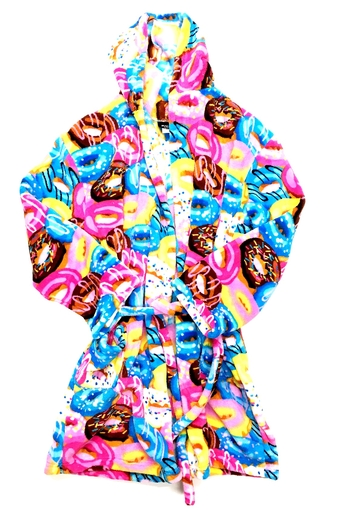 Image Donut Crazy Fuzzie Robe