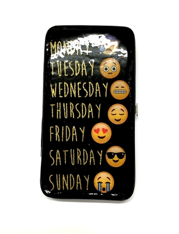 Image Clutch Wallet Smile Icons of Week