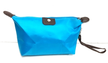 Image Nylon Zip Make-up Case Wristlet