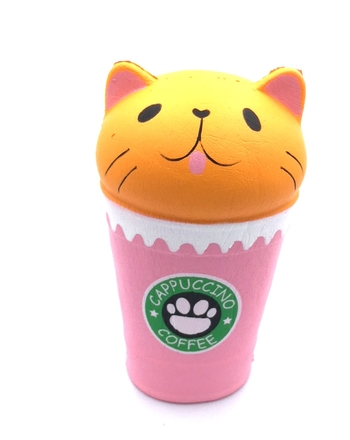 Image Cat in Frap Cup Squishie