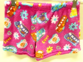 Image Pink Retro Fuzzie Short