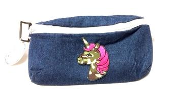 Image Camo Unicorn Denim Fanny Pack