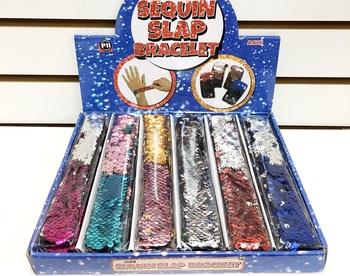 Image Sequin Slap Bracelets Series 1