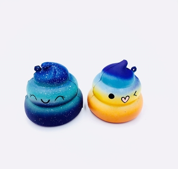 Image Rainbow Poop Squishie