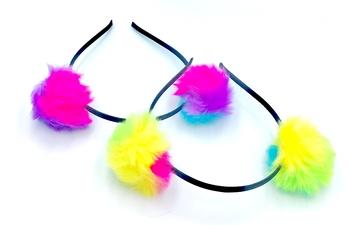 Image Double Pom Headband