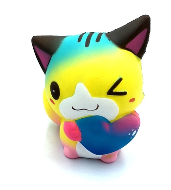 Image Heart Cat Squishie