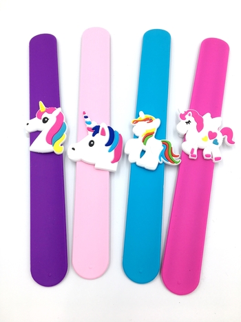 Image Unicorn Slap Bracelet
