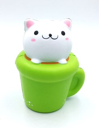 Image Kitty in Cup Squishie