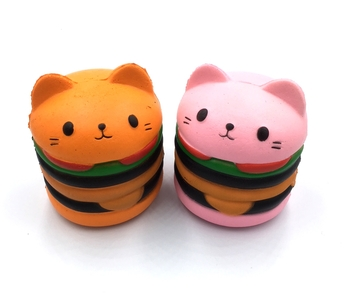 Image Burger Cat Squishie