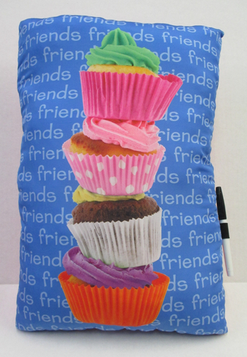 Image Friends Cupcake Autograph Pillow