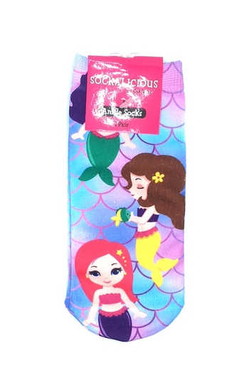 Image Mermaid Ankle Socks