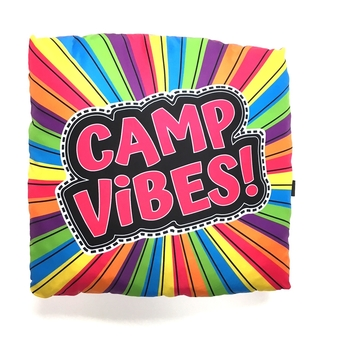 Image Camp Vibes Autograph Pillow