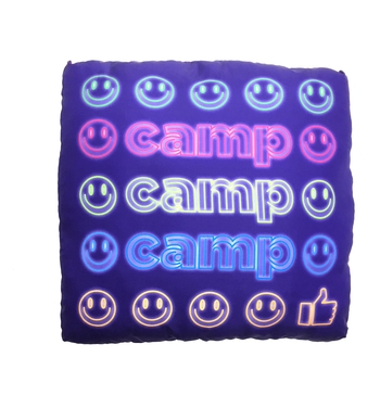 Image Neon Camp Autograph Pillow
