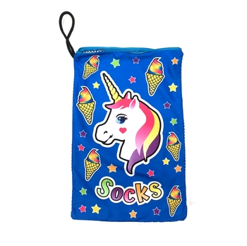 Image Unicorn Mesh Sock Bag