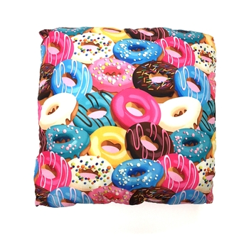 Image Donut Crazy Autograph Pillow